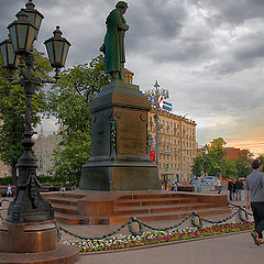 "photo ""Evening at Pushkin Square."""