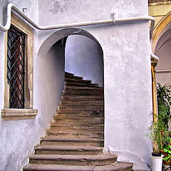 """фото """"Львов. Лестница в итальянском дворике"""""""