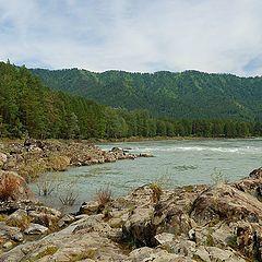 """photo """"On the coast of Katun"""""""