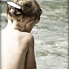 """фото """"Девочка и волны"""""""
