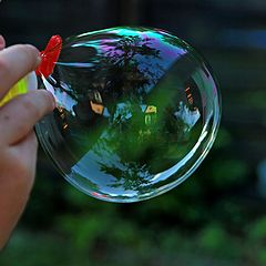 "фото ""Blowing Bubbles"""