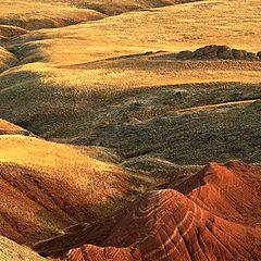 """фото """"Красные скалы горы Богдо"""""""