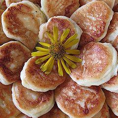 """фото """"Сырничный цветочек на завтрак"""""""