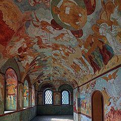 "photo ""Murals of the Rostov Kremlin"""