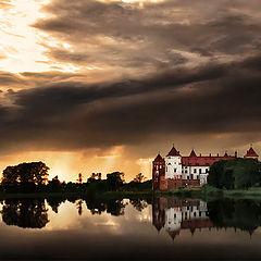 """фото """"Мирское озеро"""""""