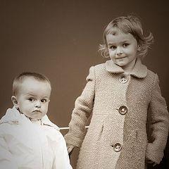 """фото """"Ретро дети"""""""