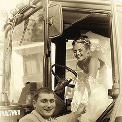 """фото """"Выйти замуж за тракториста"""""""