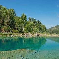 "photo ""Blue lake"""