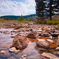"""photo """"Calm mountain river"""""""
