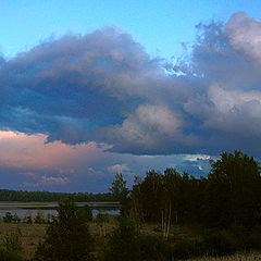 """фото """"Вечером на озере Ричи"""""""