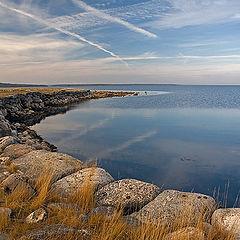"photo ""View on a passage the Iron Gate. White sea"""
