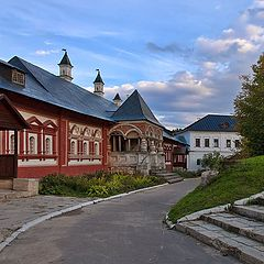 "photo ""in the monastery"""