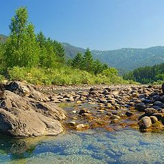 """photo """"Altay;s rivers"""""""