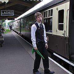 """фото """"Поезд отправляется."""""""