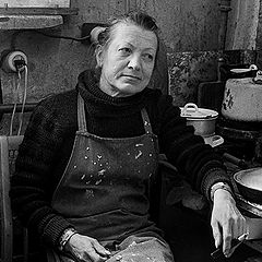 "фото ""Н.Козлова, скульптор."""