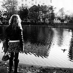 """фото """"слушать осень"""""""