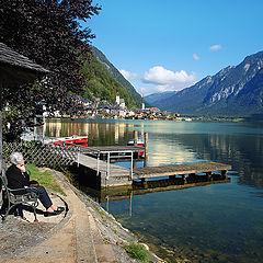 """photo """"У озера.."""""""