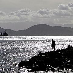 "photo ""Admiring the sea..."""