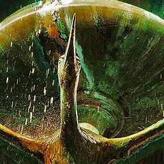 """photo """"Detail of """"Storkespringvand"""" Copenhagen"""""""