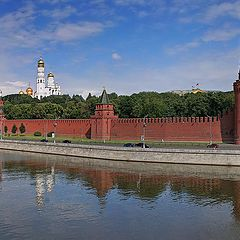 """photo """"Moscow panorama. Move the photo for full view"""""""