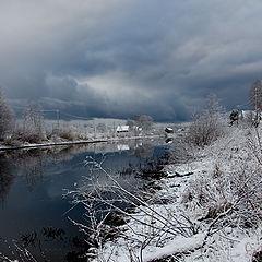"""фото """"Первый снег хмурым утром.."""""""