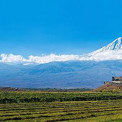 "photo ""Ararat and Khor Virap"""