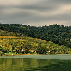 """фото """"Дачи на озере"""""""