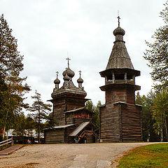 """фото """"Вознесенская церковь и колокольня."""""""