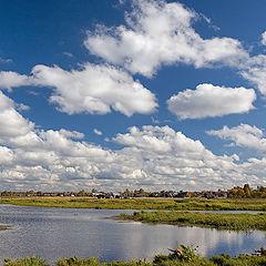 "photo ""Cloudy the Vologda area"""