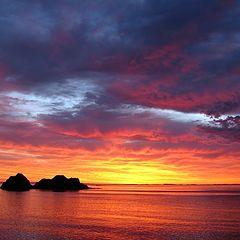 """фото """"Восход на острове Монерон"""""""