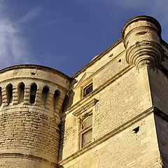 "photo ""The Castle Of Gordes in Luberon"""