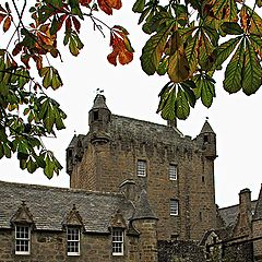 "photo ""Autumn in  Cawdor Castle"""