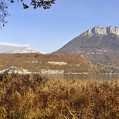 "photo ""Annecy Lake and the mountains"""