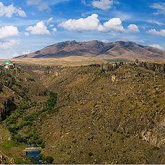 """photo """"Mountain Ara and Ashtarak canyon"""""""