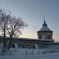 """фото """"Башня Свято-Прилуцкого монастыря."""""""