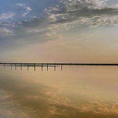 "фото ""Зеркало озера Баскунчак"""