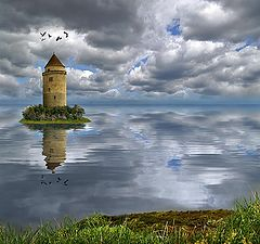 """photo """"Tower of loneliness"""""""