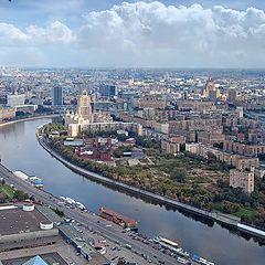 "photo ""Moscow bird's-eye view"""
