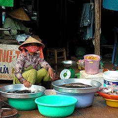 "фото ""Вьетнамский рынок"""