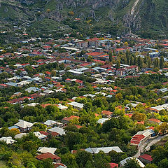 """photo """"Goris town - panorama"""""""