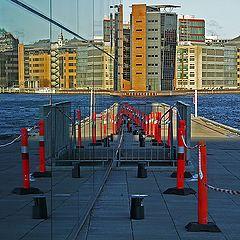 "photo ""Skyline Copenhagen...Red Corridor"""