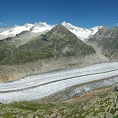 """photo """"Aletsch Glacier"""""""
