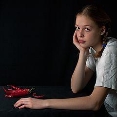 "фото ""девочка с перчиками"""