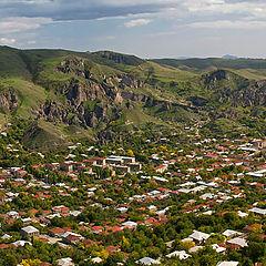 """photo """"Goris town - panorama 2"""""""