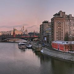 "photo ""Moscow panorama. Move the photo for full view"""
