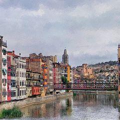 "photo ""Spain. City of Girona"""