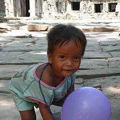 "фото ""Дети Ангкора"""