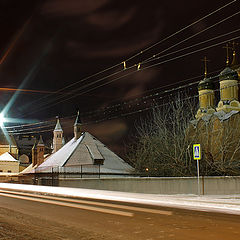 "photo ""Moscow night."""