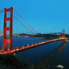 "фото ""Golden Gate Bridge"""