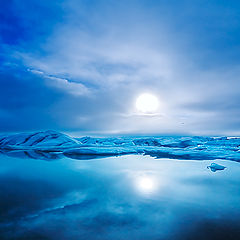 """photo """"Light in The Ice"""""""